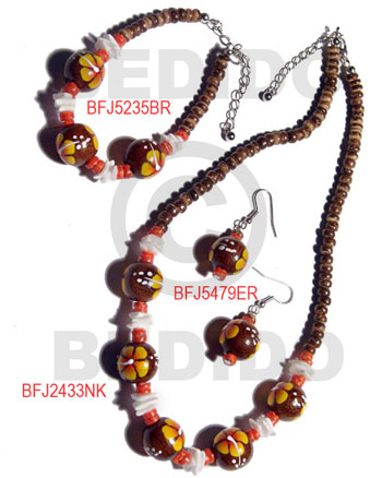 Philippine set jewelry ordered individually as set jewelry