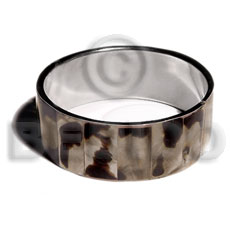 Philippines laminated inlaid brownlip in 1 shell bangles