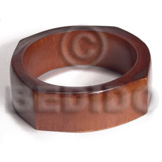 Fashion chunky elvira stained stained bangles