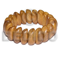 Native bayong elastic wood bangle wooden bangles