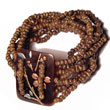 Native 10 layers elastic 2-3mm coco coco bracelets