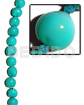 Philippines kukui seed aqua blue kukui lumbang nuts beads