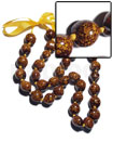 Philippine 32 pcs. of kukui nuts polynesian leis