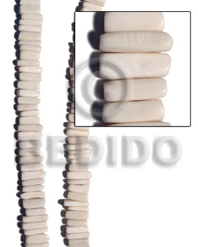 Natural bone indian stick natural bone beads