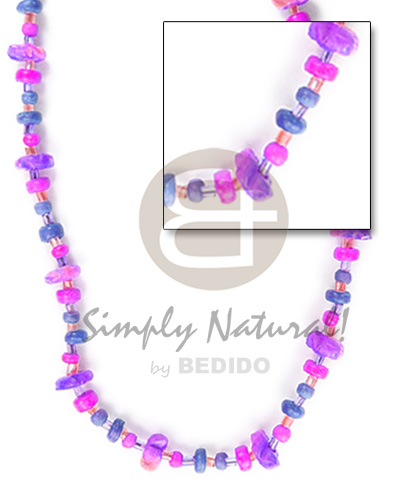 Wholesale 2-3 4-5 blue lilac pink tones coco fl0wer choker necklace