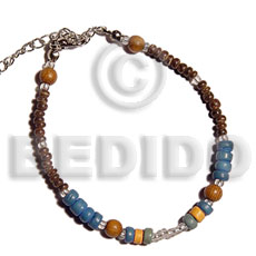 Wholesale wood beads 4-5mm 2-3mm coco bracelets