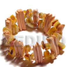 Fashion melon coco stick sq. coco bracelets