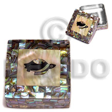 Philippines stainless square metal casing gifts & home table decor set