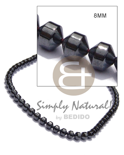Philippines hematite silvery shiny mens necklace