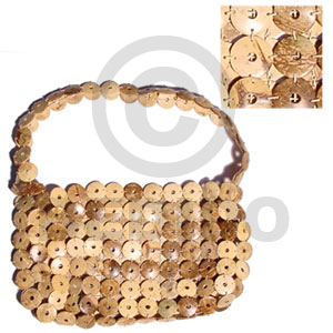Philippine natural coco rings lining native bags