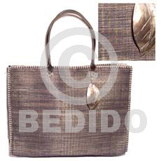Fashion raffia stitch bag dangling native bags