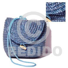 Fashion banig blue sling bag native bags