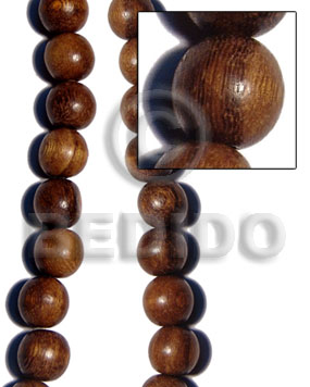 Philippines robles round wood beads 25mm round wood beads