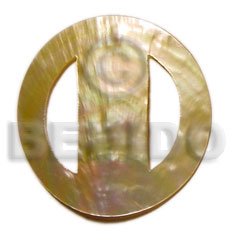 Teens round mop buckle 70mm sarong shell buckle