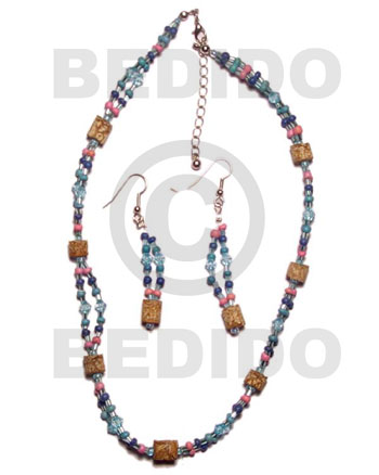 Native set jewelry ordered individually as set jewelry
