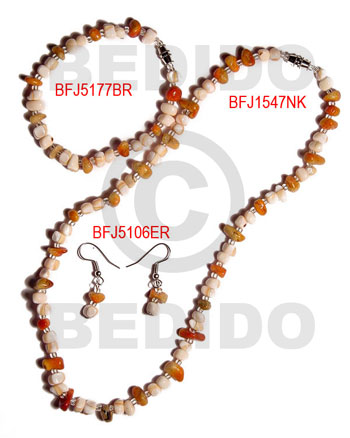 Ethnic set jewelry ordered individually as set jewelry