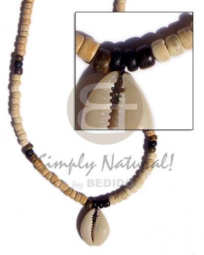 Cebu 4-5 coco pukalet bleach shell necklace