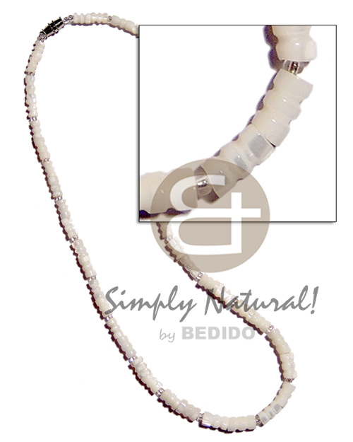 Philippines troca bamboo shell necklace