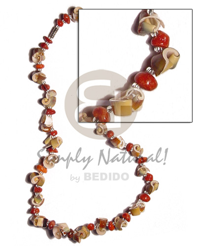 Wholesale green everlasting luhuanus red surfer necklace