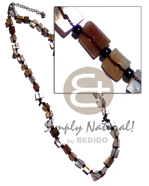Philippines floating brownlip chips surfer necklace