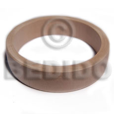 Natural plain wholesale raw natural wooden blank bangle casing only unfinished wooden bangles