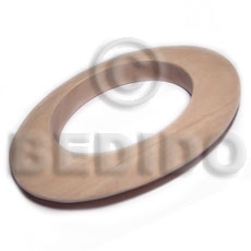 Handmade plain wholesale raw natural wooden blank bangle casing only unfinished wooden bangles