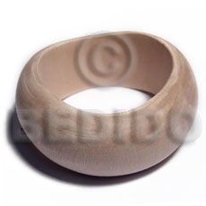 Ladies plain wholesale raw natural wooden blank bangle casing only unfinished wooden bangles