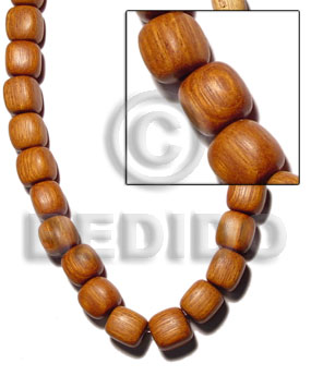 Unisex bayong dice 20mmx20mm wood beads