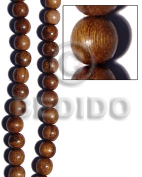 Handmade robles round wood beads 20mm wood beads