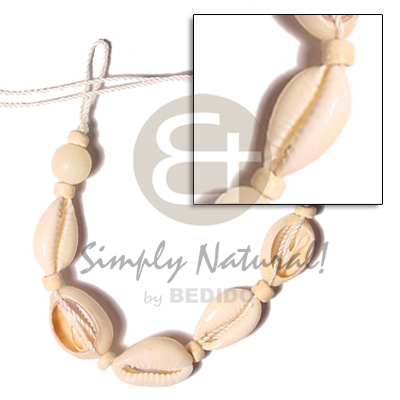 Philippine sigay macrame wooden anklets