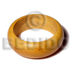 Teens nangka rounded wood bangle wooden bangles