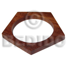 Wholesale h=10mm thickness=10mm diameter=65mm bayong wood wooden bangles