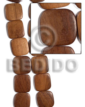 Natural 30mmx40mmx6mm redwood sibucao twisted